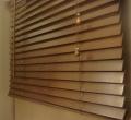 store Vénitien BOIS 50 WENGE L60xH240cm