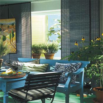 stores bois tisse sur mesure. Black Bedroom Furniture Sets. Home Design Ideas