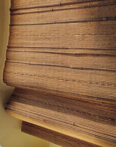 Stores fibres vegetales feuilles de palme bambou stores for Store en bambou exterieur